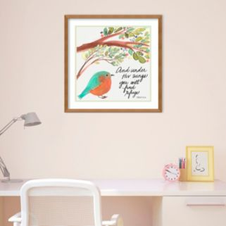 "Amanti Art ""Under His Wings"" Framed Wall Art"