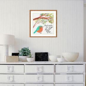 "Amanti Art ""Under His Wings"" Framed Wall Art"