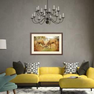 Amanti Art Unyielding Deer Framed Wall Art