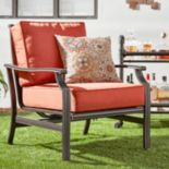 HomeVance Borego Patio Club Arm Chair