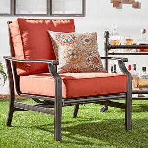 HomeVance Borego Patio Club Arm Chair