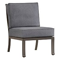 HomeVance Borego Armless Patio Chair