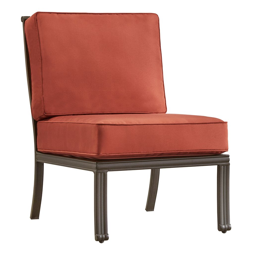 HomeVance Borego Armless Patio Chair