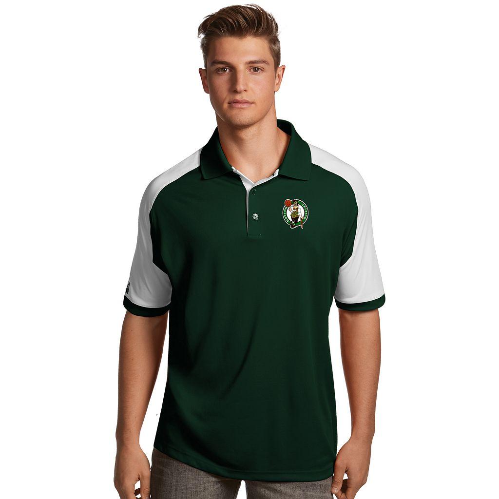Men's Antigua Boston Celtics Century Polo