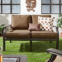 HomeVance Borego Patio Loveseat