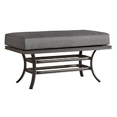 HomeVance Borego Patio Coffee Table Ottoman