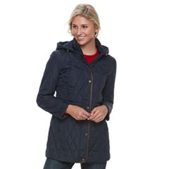 Women's Chaps Quilted Anorak Jacket