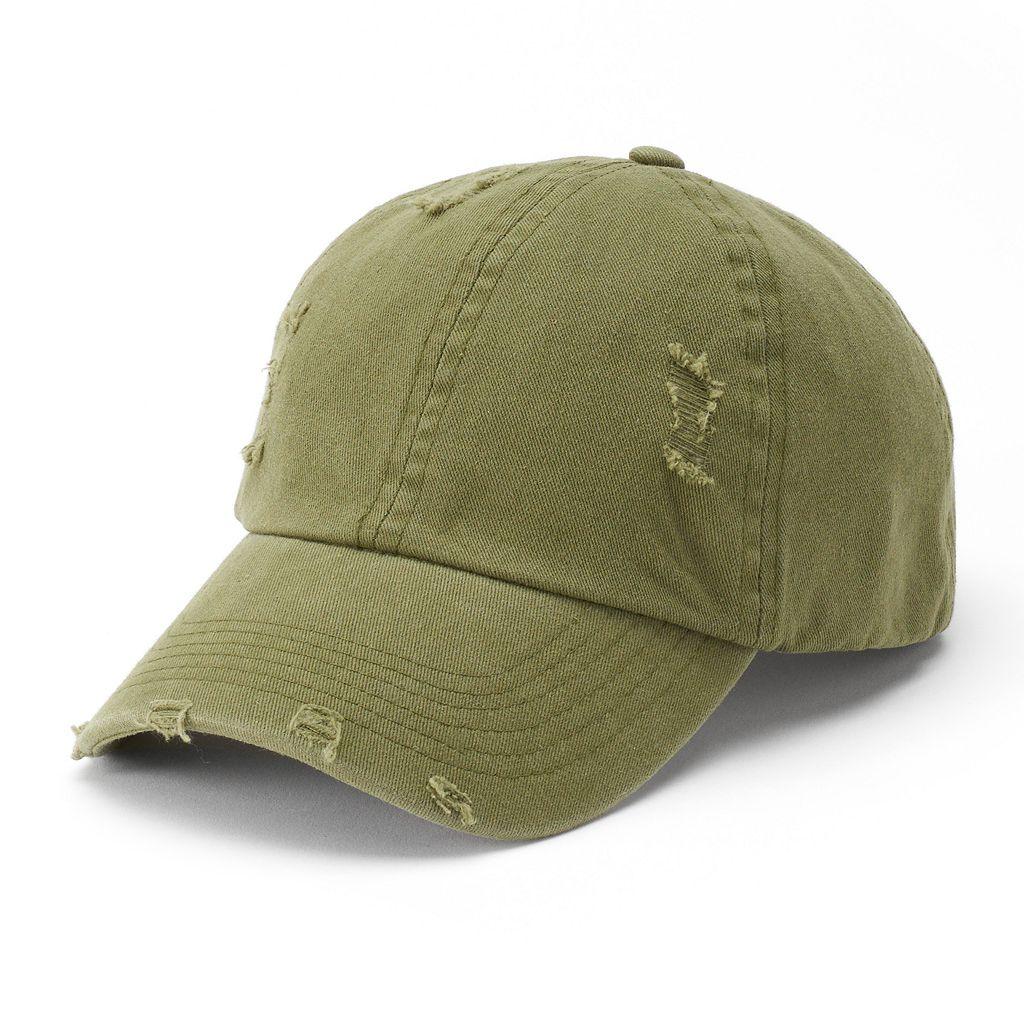 Women's Mudd® Distressed Baseball Cap