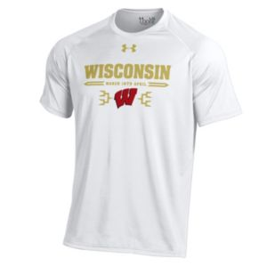 Men's Under Armour Wisconsin Badgers Selection Sunday Tech Tee