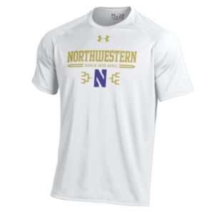 Men's Under Armour Northwestern Wildcats Selection Sunday Tech Tee