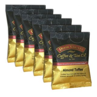 Door County Coffee Almond Toffee Ground Coffee 6-pk.