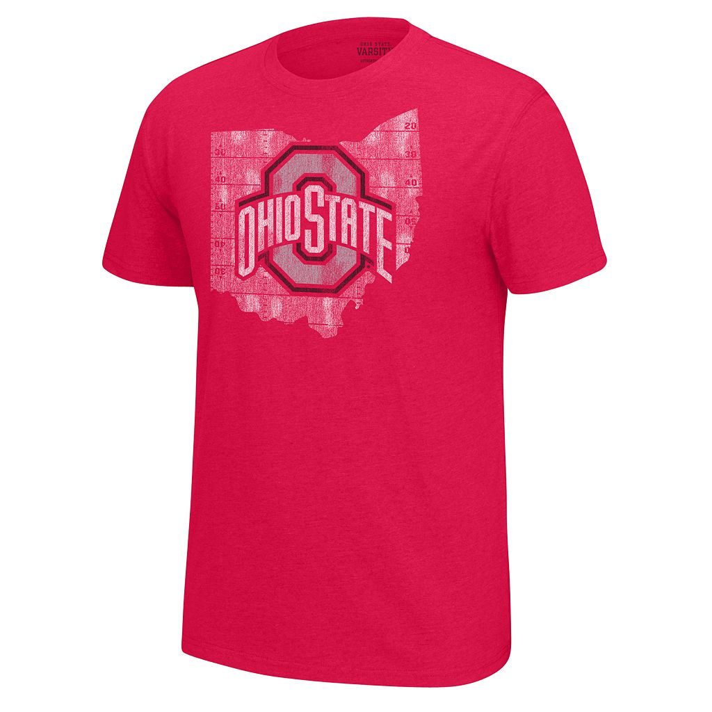 Men's Ohio State Buckeyes Staple Tee