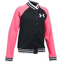 Girls 7-16 Under Armour Fleece Bomber Jacket