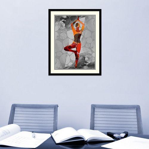 Amanti Art Yoga Pose I Framed Wall Art