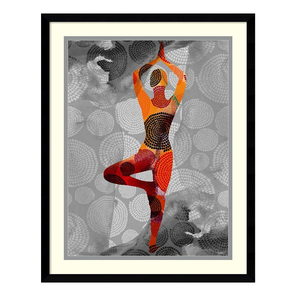Amanti Art Yoga Pose I Framed Wall Art