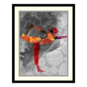 Amanti Art Yoga Pose II Framed Wall Art