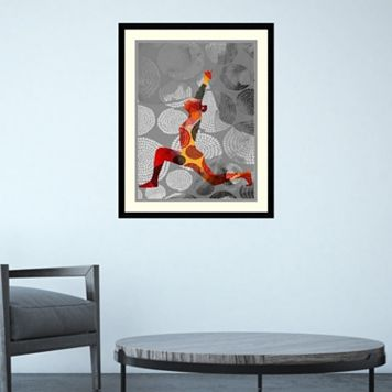 Amanti Art Yoga Pose IV Framed Wall Art