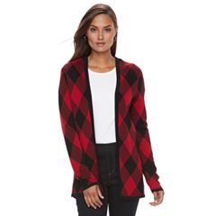 Womens Red Cardigan Sweaters - Tops, Clothing | Kohl's