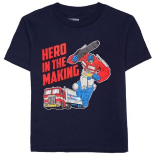 "Toddler Boy Transformers ""Hero In The Making"" Graphic Tee"