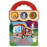 Brave Little Red 3B Sound Board Book by Cottage Door Press