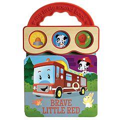 Brave Little Red 3B Sound Board Book by Cottage Door Press