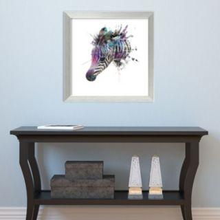 Amanti Art Zebra Framed Wall Art