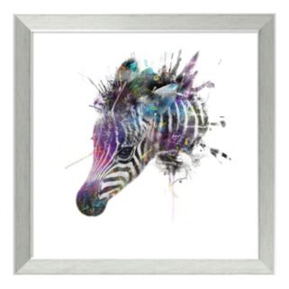 Amanti Art Zebra Framed Wall Art