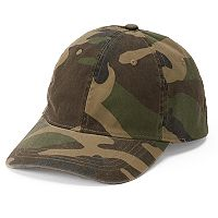 Women's Mudd® Camouflage Baseball Cap