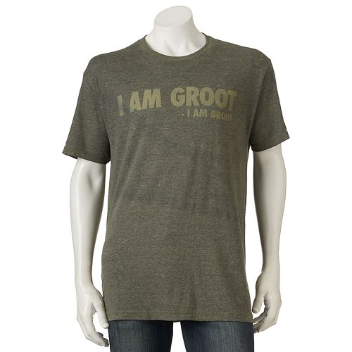 """Men's Marvel """"I Am Groot"""" Guardians of the Galaxy Tee"""