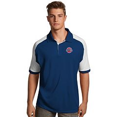 Men's Antigua Detroit Pistons Century Polo