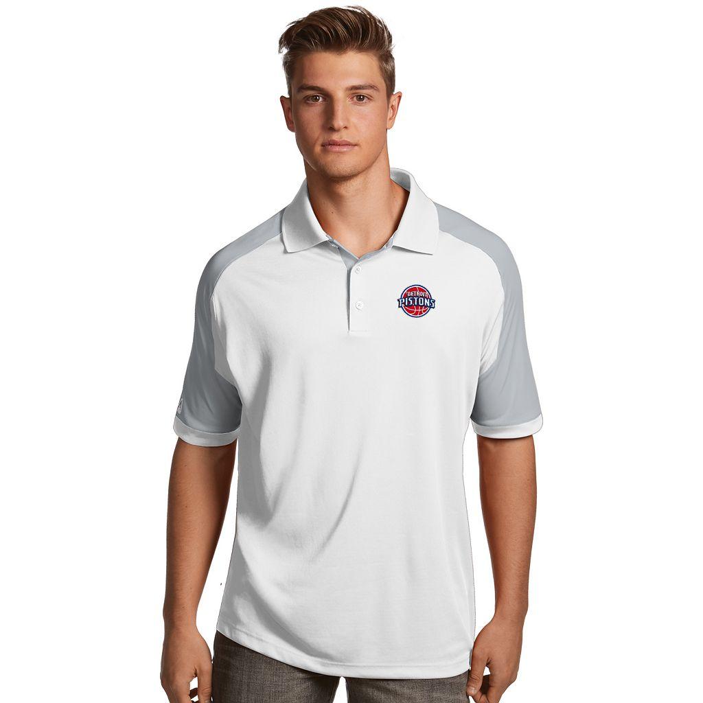 Men's Antigua Detroit Pistons Century Polo