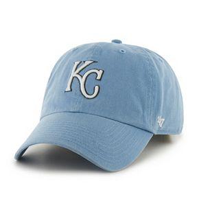 Adult '47 Brand Kansas City Royals Road Clean Up Adjustable Cap