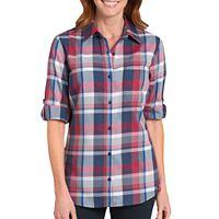 Women's Dickies Plaid Button-Down Shirt