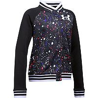 Girls 7-16 Under Armour Novelty Fleece Bomber Jacket