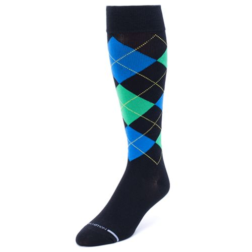 Men's Dr. Motion Argyle Compression Socks