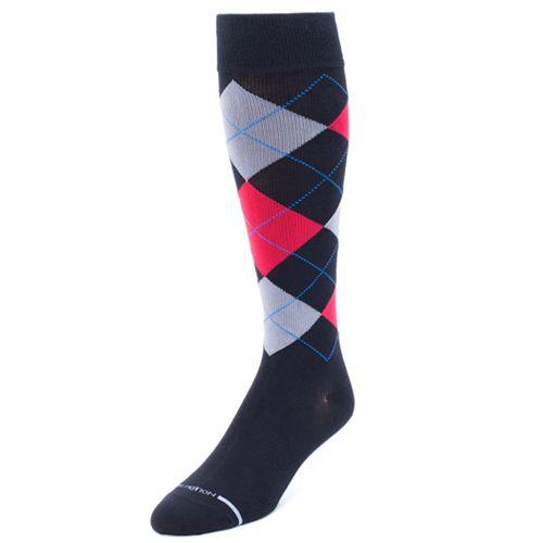 2355182fc Men s Dr. Motion Argyle Compression Socks