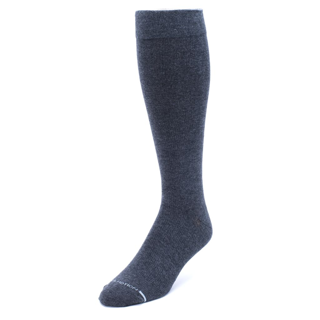 Men's Dr. Motion Solid Compression Socks