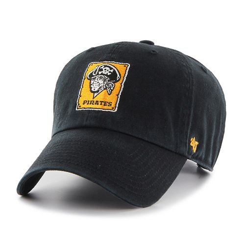 Adult '47 Brand Pittsburgh Pirates Cooperstown Clean Up Cap