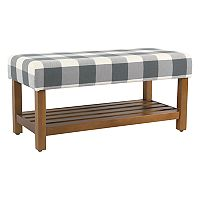 HomePop Striped Bench
