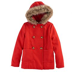 Girls 6-16 SO®  Peacoat