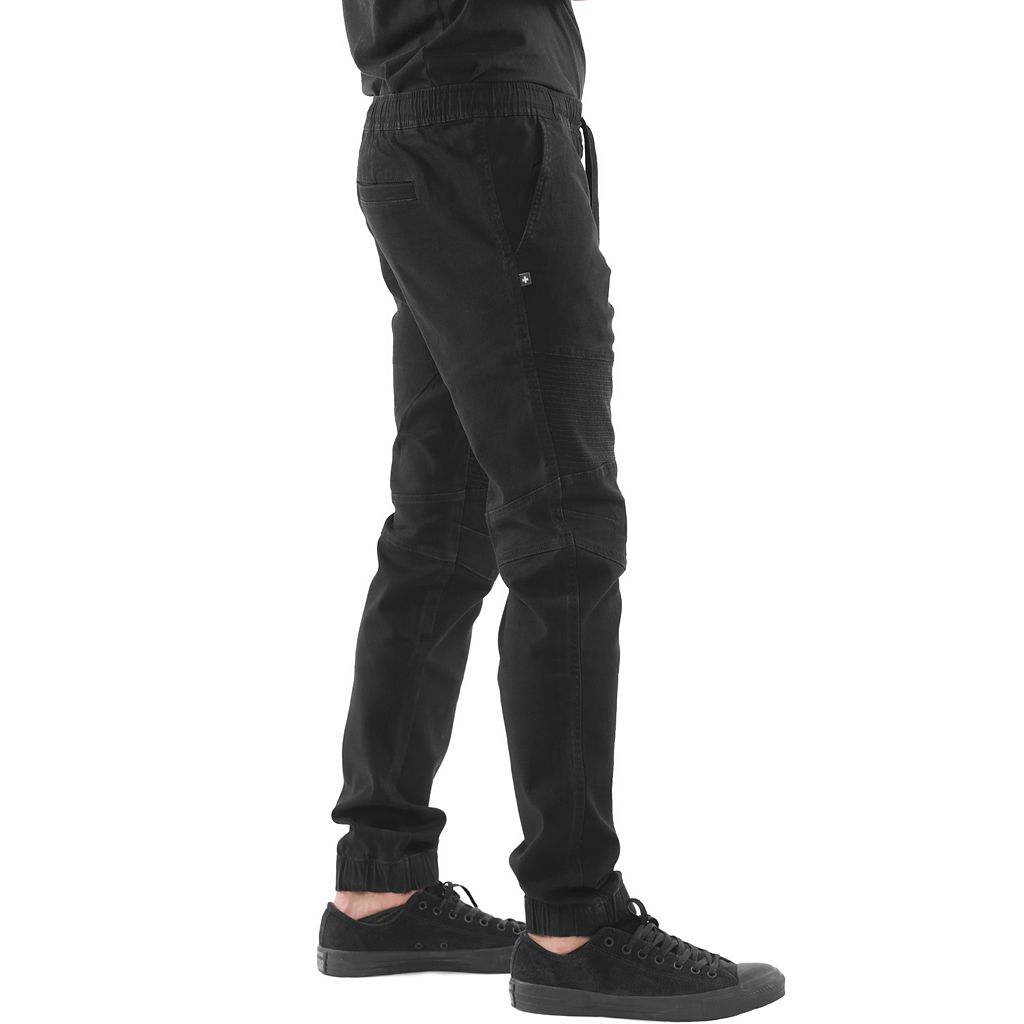 Men's Lost + Found Stretch Twill Moto Jogger Pants