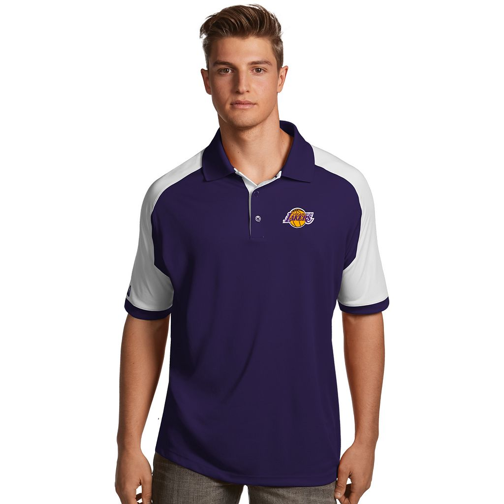 Men's Antigua Los Angeles Lakers Century Polo