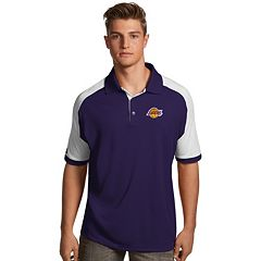 Men's Antigua Los Angeles Lakers Century Polo