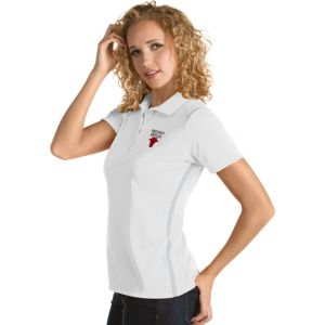 Women's Antigua Chicago Bulls Merit Desert Dry Polo