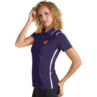 Women's Antigua Phoenix Suns Merit Desert Dry Polo