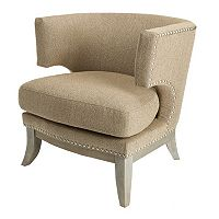 HomePop Aubrey Accent Chair