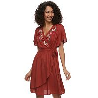 Women's SONOMA Goods for Life™ Embroidered Wrap Dress