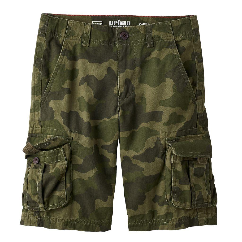 Boys 8-20 Urban Pipeline® Messenger Cargo Twill Shorts