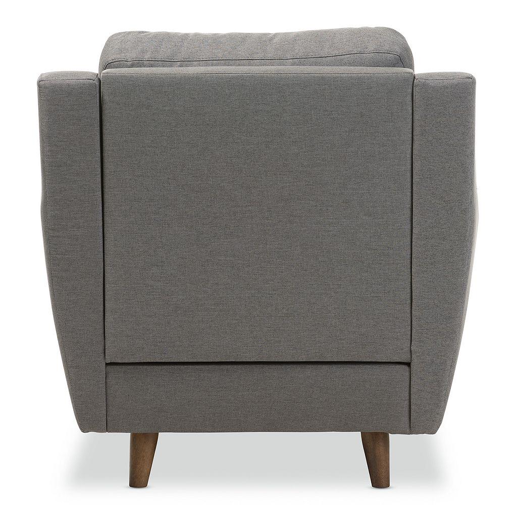 Baxton Studio Mckenzie Tufted Arm Chair