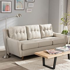 Baxton Studio Mckenzie Tufted Sofa  by